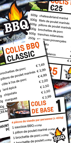 Colis BBQ - De kleine Bassin