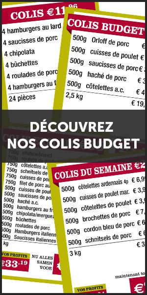 Versmarkt De Kleine Bassin - collis budget