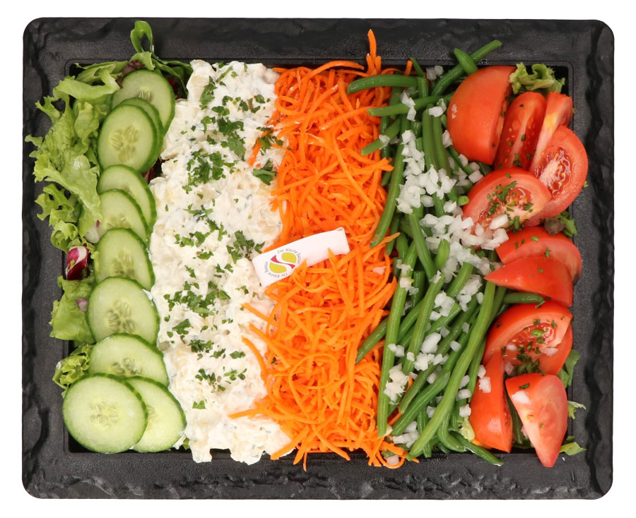 Plat de légumes 4 pers - De Kleine Bassin