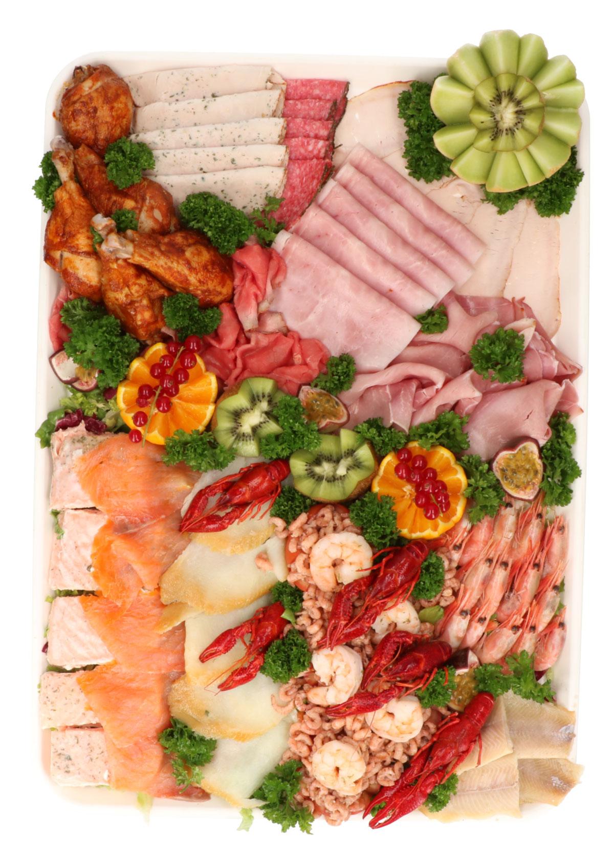 Luxe buffet vis & vlees - De Kleine Bassin